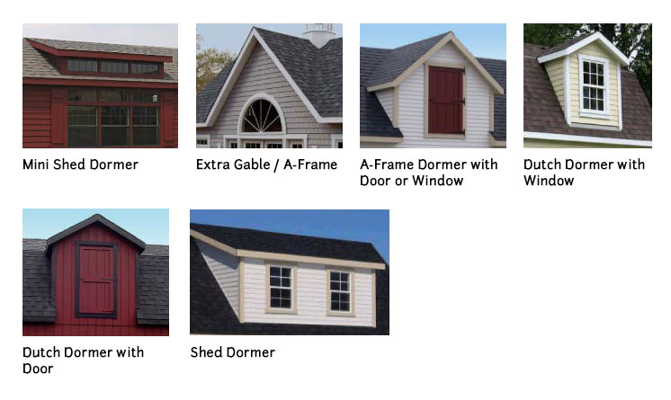 Dormers classic garden structures - Dormer window house plans extra personality ...